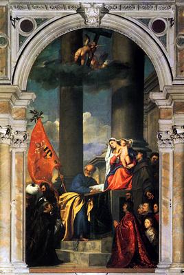 titian pesaros madonna 1519