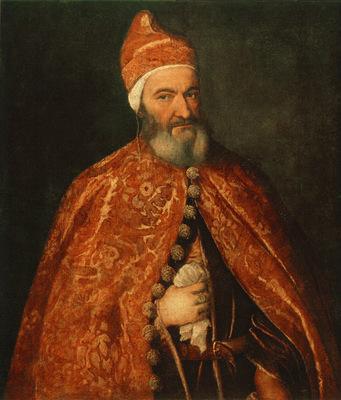Titian Portrait of Marcantonio Trevisani