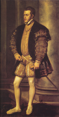 Titian Portrait of Philip II