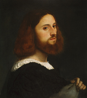 Titian Portrait of a Man c1515 The Met