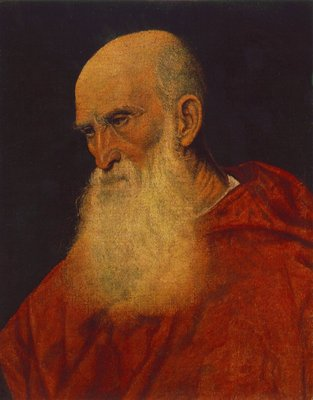 Titian Portrait of an Old Man Pietro Cardinal Bembo