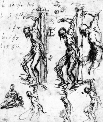 titian studies of saint sebastian