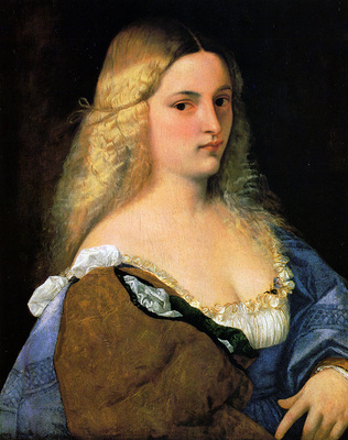 titian violante 1515
