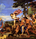 titian bacchus and ariadne 1522