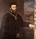 Titian Portrait of Count Antonio Porcia