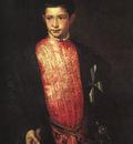 Titian Portrait of Ranuccio Farnese