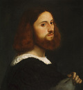 Titian Portrait of a Man c1515 The Met