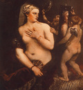 Titian Venus at her Toilet