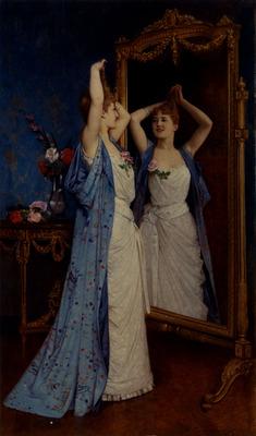 Toulmouche Auguste La Toilette