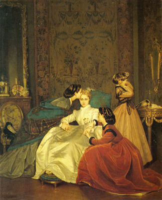 Toulmouche Auguste The Reluctant Bride