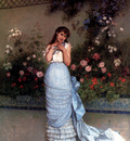 Toulmouche Auguste An Elegant Beauty