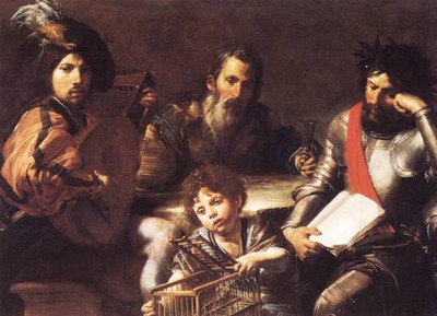 VALENTIN DE BOULOGNE The Four Ages Of man