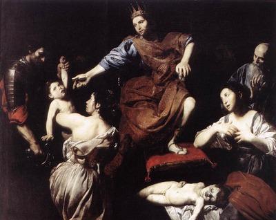 VALENTIN DE BOULOGNE The Judgment Of Solomon