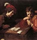 VALENTIN DE BOULOGNE Card Sharpers