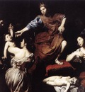 VALENTIN DE BOULOGNE The Judgment Of Solomon