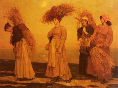 Prinsep Valentine Cameron Home From Gleaning