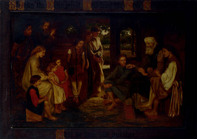 Prinsep Valentine Cameron St John The Efvangelist Teaching The New Commandment