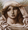 vedder elihu head of a young woman