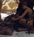 Vedder Elihu Marsyas Enchanting the Hares