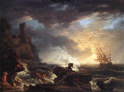 VERNET Claude Joseph Shipwreck