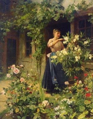 Gilbert Victor Gabriel Gardening