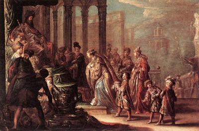 VIGNON Claude Esther Before Ahasuerus