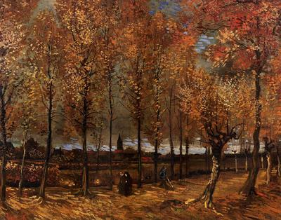 Van Gogh Vincent Lane with Poplars
