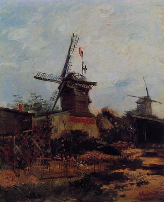 Van Gogh Vincent Le Moulin de Blute Fin