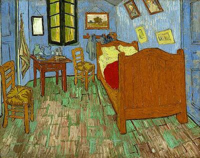 van gogh vincent the bedroom