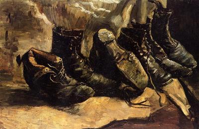 Van Gogh Vincent Three Pair of Shoes