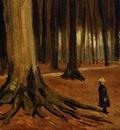 Van Gogh Vincent Girl in the Woods