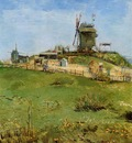 Van Gogh Vincent Le Moulin de la Gallette3