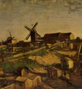 Van Gogh Vincent Montmartre the Quarry and Windmills2