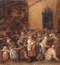 VINCKBOONS David Distribution Of Loaves To The Poor