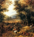 VINCKBOONS David Forest Scene With Robbery