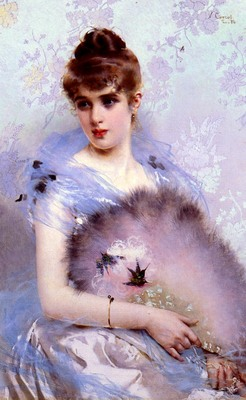 Corcos Vittorio Matteo The Featherbed Fan