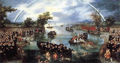 VENNE Adriaen Pietersz van de Fishing For Souls