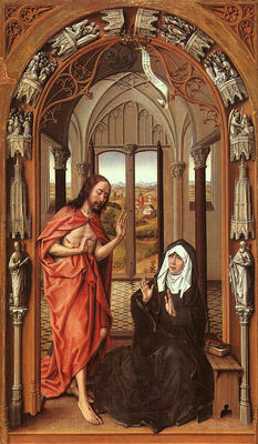 Christ appearing to his mother EUR