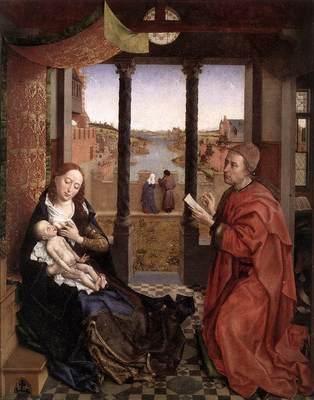 St Luke painting Madonna EUR