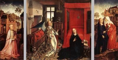 Weyden Annunciation Triptych