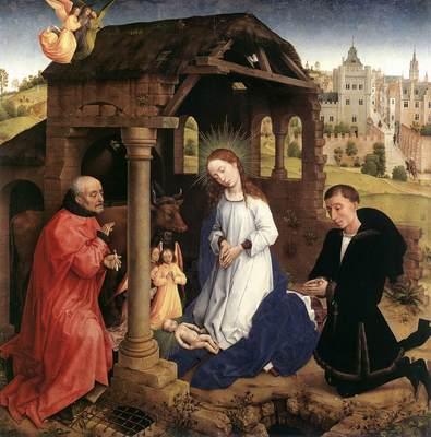 Weyden Bladelin Triptych central panel