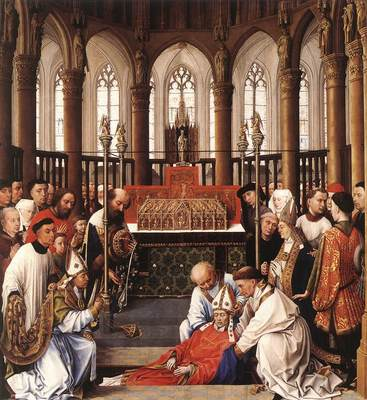 Weyden Exhumation of St Hubert