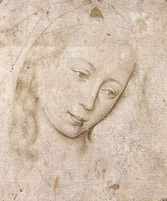 Weyden Head of the Madonna