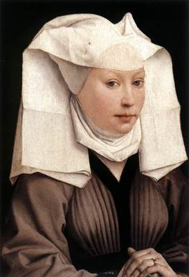 Weyden Lady Wearing a Gauze Headdress