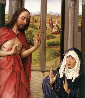 Weyden Miraflores Altarpiece right panel detail1