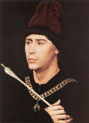Weyden Portrait of Antony of Burgundy c1461