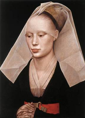 Weyden Portrait of a Lady c1455