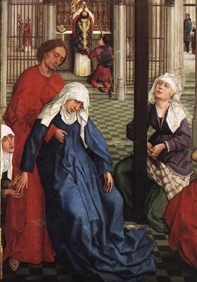 Weyden Seven Sacraments central panel detail1