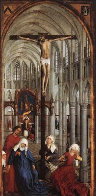 Weyden Seven Sacraments central panel