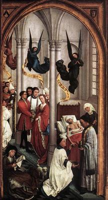 Weyden Seven Sacraments right wing